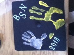 My grad cap idea: I wanted to include my daughter to remember all that we've gone through together.