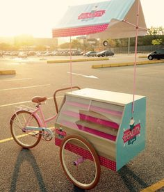 olebikes Ice Cream Cart, Ice Cream Theme, Coffee Carts, Coffee Shop, Bike Coffee, Vendor Cart, Food Cart Design, Bike Food, Bakery Decor