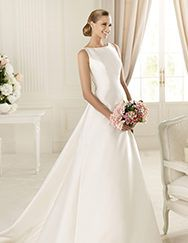 Pronovias ti presenta l'abito da sposa Galardon, Manuel Mota 2013. | Pronovias