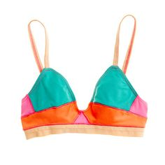 Xirena Artista Colorblock Tais Bralette $45