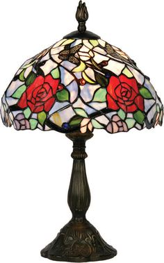 Stained Glass Tiffany Table Lamp Click the image for more.