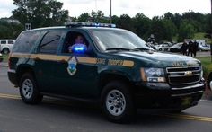 Vermont State Police chevy tahoe