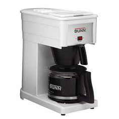 Bunn Original 10-Cup Home Coffee Brewer - White