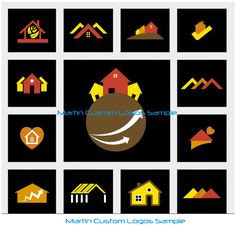 Martin Custom Logos and Art Work Sample Like Us On Facebook #CustomLogo #LogoDesign #ArtWork #websitegraphics #graphics #realestatelogo