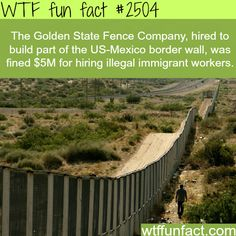 Golden State Fence Company Hires illegal immigrant -WTF funfacts - really funny if true.