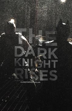TDKR poster by pbmworkson