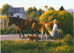 The Passing Parade ~ Robert Duncan Artwork