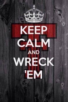 Texas Tech Keep Calm! @Texas Tech Athletics @Texas Tech Athletics #TTU #wreckem #redraiders #keepcalm