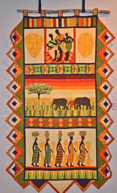 African Rhythm Quilts by Maggie Earley...Wilmington.