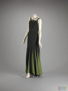 Jean Patou, Evening Dress, 1930, The Indianapolis Museum of Art