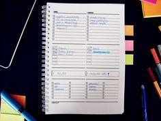 Organizacja czasu - darmowy kalendarz do druku :-)