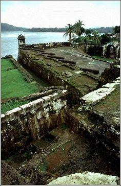 Fortress in Portobello, PANAMA.