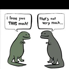 T-Rex Jokes about their short arms always make me laugh.