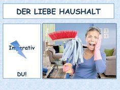 HAUSHALT - Imperativ - DU DaF A1, A2, B1