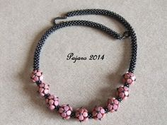 After some weeks with technical problems I am back again. I saw some beautiful necklaces made with pinch-beads in Altötting but I forgot to ...