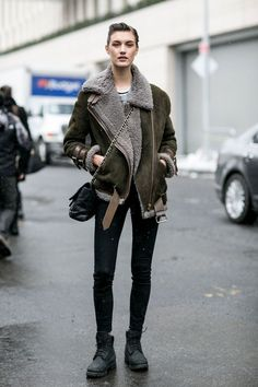 79 Incredible Model-Off-Duty Street Style Outfits From New York Fashion Week | StyleCaster: