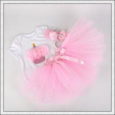 3Pcs/Set Baby Girl Crown Tutu Dress Infant 1st Birthday Party Outfit Romper Bubble Skirt Headband Bebe Newborns Tulle Vestidos -    Label Size      Cloth Length      bust       Recommended age       3M      36 cm      44 cm      0-3M       6M      39 cm      46 cm      3-6M     ... ($20.3)