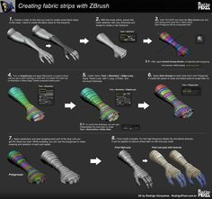 ZBrush mini tutorial by Rodrigo Goncalves