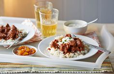 One-pan lamb rogan josh | Tesco Real Food