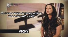 Geordie Shore Best Sayings - Beste Spruche Ideen Tv Quotes, Movie Quotes, Best Quotes, Gerodie Shore, Geordie Shore Quotes, Vicky Pattison Geordie Shore, Funny Photos, Funny Images, Humor