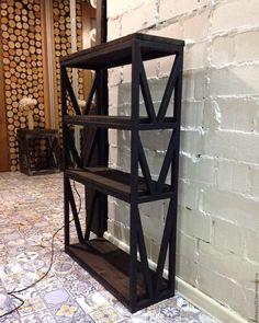 Купить Этажерка JACKDAW - этажерка, тумба, полки, ящик, комод, лофт, loft, мебель лофт
