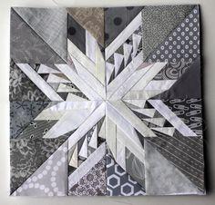 Carol Doak paper pieced star