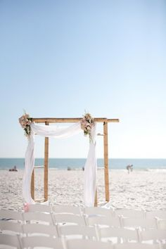 Altar and Arch Decor Wedding Ceremony Photos on WeddingWire