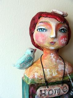 Art doll by Susana Tavares