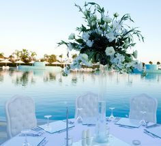 11 PrettyPoolside Weddings on Pinterest That Will Make You Swoon from InStyle.com