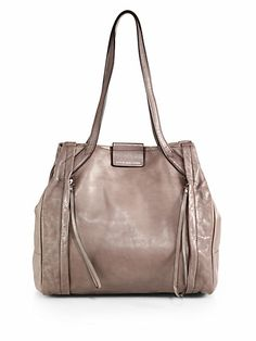 f054f032c6f Marc by Marc Jacobs - Moto Leather Tote - Saks.com Anna Wintour