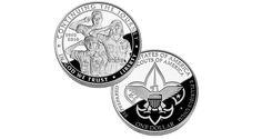 2010 Boy Scouts of America Centennial Silver Dollar - Proof | Boy Scouts Silver Dollar