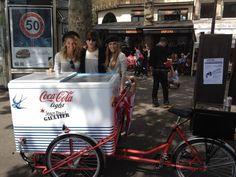 Streetplanneur >> Coca-Cola light en tournée pour faire découvrir ses nouvelles bouteilles signées Jean Paul Gaultier