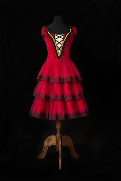 Kitri · Ballet · Don Quijote · Costume Designer · Diseño de Vestuario: Ana Carolina Figueroa