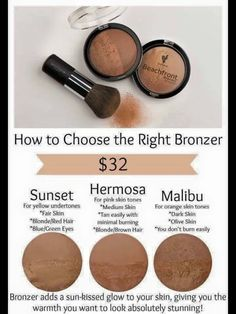 Need help picking out a bronzer to give you that sun kissed ☀️ tan?  You will fall in love with Younique's beachfront bronzer.   Shop here: www.jensgorgeouslashes.com