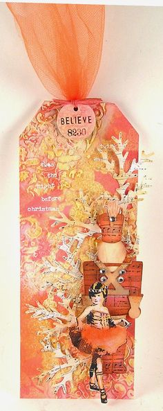 Suzz's Stamping Spot: Nutcracker Ballet using Tim Holtz, Ranger, Sizzix and Stamper's Anonymous products; Dec 2014