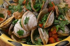 Steamed Clams & Tomatoes from Everyday Food ... perfect for an Every(thurs)Day Food post! This was so easy and yummy!