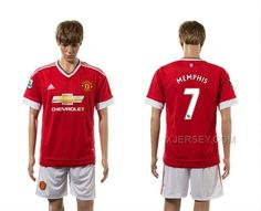 http://www.xjersey.com/201516-manchester-united-7-memphis-home-jersey.html 2015-16 MANCHESTER UNITED 7 MEMPHIS HOME JERSEY Only 33.11€ , Free Shipping!