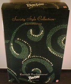1996 Limited Edition Emerald Enchantment Blonde Barbie Doll by Mattel. $24.99. BARBIE LIMITED EDITION. BEAUTIFUL GREEN DRESS