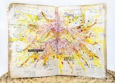 Male fantazje Oli: ArtGrupa ATC - Wyzwanie Art journal