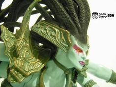 Naga Queen Lady Vashj Action Figure Review Dark Queen, World Of Warcraft, Action Figures, Princess Zelda, Lady, Fictional Characters, Image, Fantasy Characters