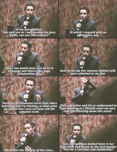 Eddie Redmayne, Love this interview.