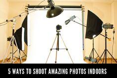 5 Ways to Shoot Great Photos Indoors