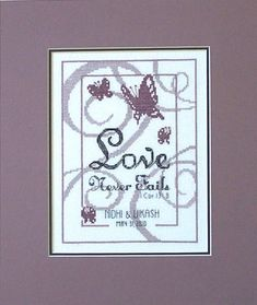Free Wedding Cross Stitchings | Wedding+cross+stitch+patterns+free