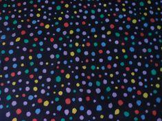 Valse de Pois Multicolores : Tissus à thème par route-des-tissus
