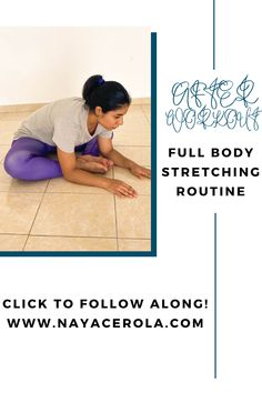 ading dynamic and static stretches after your workout could be your ticket to reduce muscles soreness, prevent injuries and develop flexibility At Home Workouts For Women, Beginner Workout At Home, Workout For Beginners, Full Body Stretching Routine, Stretch Routine, Body Stretches, Stretching Exercises, After Workout, Sore Muscles