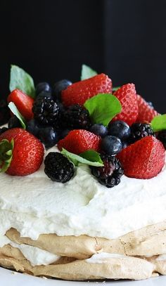 Favorite Pavlova Recipe 2016