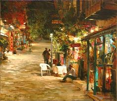 DMITRI DANISH-Night Town