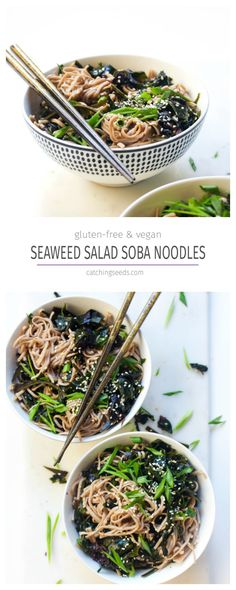 All the flavors of seaweed salad from your favorite joint for dinner in under 30 minutes! | Vegan & Gluten free