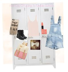 """""""First day of middle school"""" by jazfak on Polyvore featuring Eres, H&M and Casetify"""