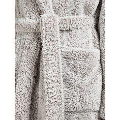 John Lewis High Pile Fleece Robe